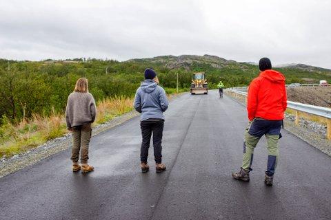 FÅR STØTTE: Natur og Ungdom har stoppet Jan Opgård AS og Nussir ASA tre ganger fra å komme i gang med jobben på Markoppneset.