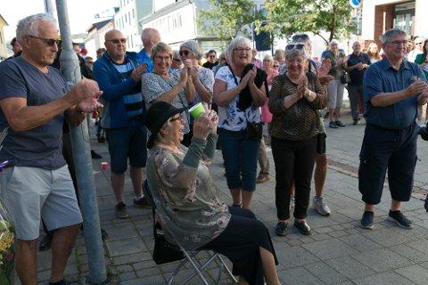 KLAPP: Svea Andersen var en populære prismottaker.