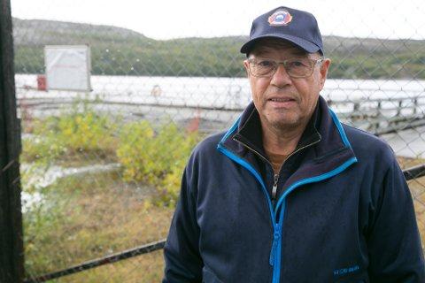GJORT: Walter Kolpus håper at Kimek vil gjøre et arbeid for å få bedret og sikret kaia.