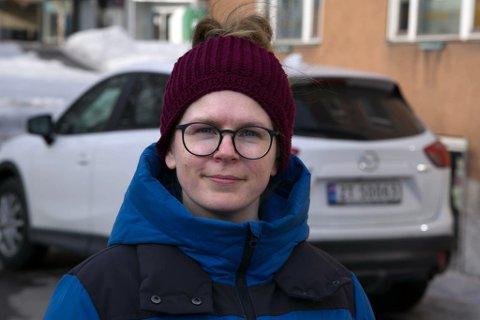 FORSTÅR REAKSJONEN: Theresa Haabeth Holand (Rødt) forstår at Grongstad reagerte og sier at Rødt skal finne bedre måter å invitere til samarbeid på.
