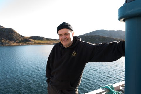 IVRER FOR FISKERNE: Arnkjell Bøgeberg vil gjerne kunne presentere bedre liggeforhold for fiskerne i denne delen av Laksefjorden.