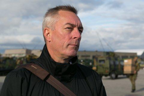 STATSRÅD: Frank Bakke-Jensen har ikke mange dagene igjen som Forsvarsminister.