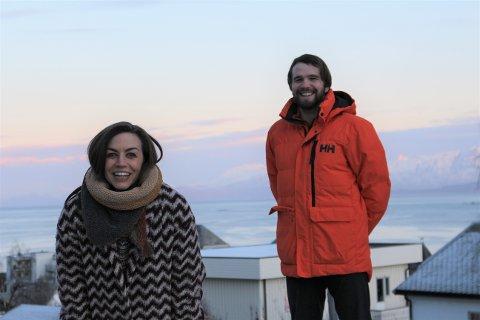 TALSPERSONER: Hanne Gideonsen og Oskar Alvereng  er valgt til talspersoner for MDG Harstad.