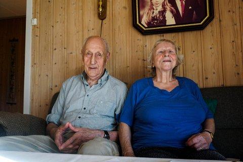 INNHOLDSRIKT LIV: Ekteparet Johan Agersborg og Sofie Agersborg har opplevd mye gjennom sitt 54 år lange ekteskap.
