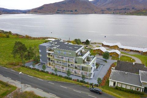 BORKENES: BONORD har planer for bygging av 20 leiligheter på Heimenjorda sentralt på Borkenes.