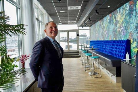 direktør Odd Kåre Sivertz-Pettersen ved Thon hotels Harstad