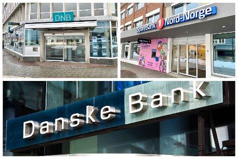 """500.000,- PER ÅR: Avtalen med Danske Bank strekker seg over tre år. Kommunedirektør Hugo Thode Hansen bekrefter tirsdag at """"1,5 millioner bedre"""" enn neste bank er for hele perioden. De to andre bankene som leverte tilbud var Sparebank1 Nord-Norge og DNB, som begge har kontorer i Harstad."""