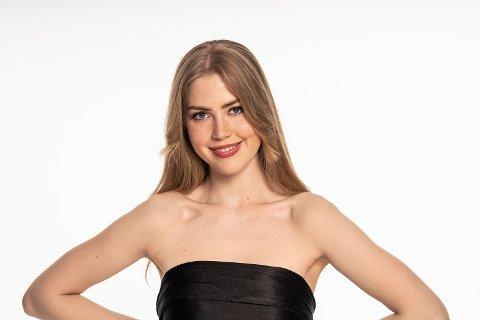 VIDERE: Guro Tobiassen fra Harstad er videre i konkurransen om å få representere Norge i Miss Universe.