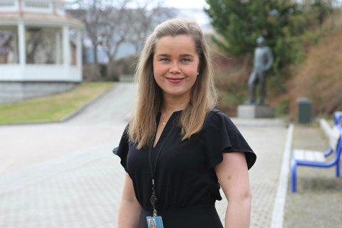 BOLIGPRISENE OPP OG NED: Omsetningene i Harstad innenfor de tre forutgående månedene viser 95 salg i begge periodene, og en prisoppgang på 3,48 prosent periodene satt opp mot hverandre, sier Maria Thørnquist Liljedal, daglig leder hos DNB Eiendom i Harstad. I februar gikk de imidlertid litt ned.