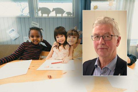 Kommunalsjef Henry Andersen sier at det er ledige barnehgaeplasser i Harstad, men at man ønsker at de skal være åpne for tilflyttere.