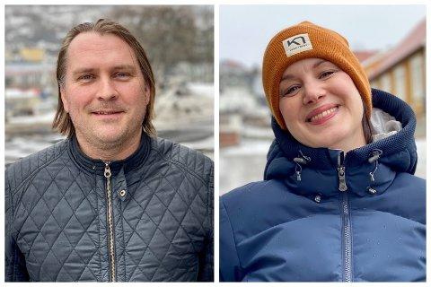 JUBLER: Espen Ludviksens Senterpartiet og Julie Løtveits Rødt er de store vinnerne på Norstats ferske partimåling for Troms.