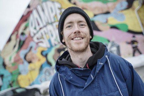 """PRØVETRYKK: Petter Bratland ønsker å videreutvikle """"Prøvetrykk"""" og kunne nå enda flere potensielle kunder."""