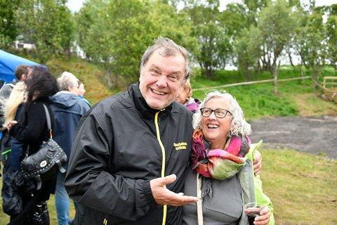 KLAR: Arne Kristian Torbergsen (t.v.) gleder seg til å arrangere Gressholmanfestivalen for tredje gang. – Fjorårets arrangement ble jo noe amputert, men i år kommer vi sterkt tilbake igjen, sier han.