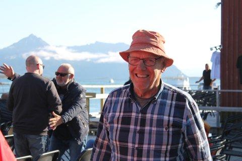 Trond Eilertsen, innehaver av Ramsalt pub på Meløyvær.