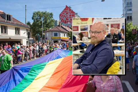 LOKALT: iHarstad har spurt Eivind Stene om en kommentar på Per-Willy Amundsens Pride-kritikk.