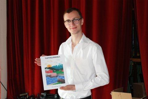 Det siste året har Lars Andreas Berg blitt et velkjent fjes for øyboerne på Sandsøy