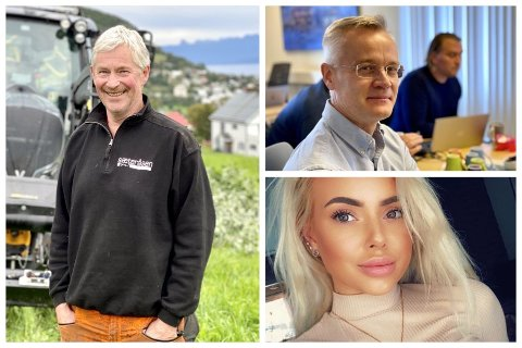 NYETABLERINGER: Både Arild Kulseng-Hansen, Einar Jahre Musteparta og Toni Alexandra Eriksen etablerte nye bedrifter i juli.