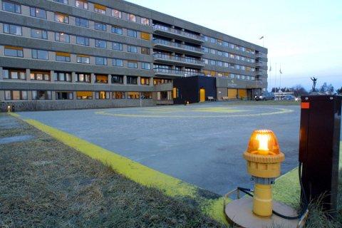 15 PERSONER: I alt er 15 personer innlagt på UNN. Ingen av dem i Harstad.