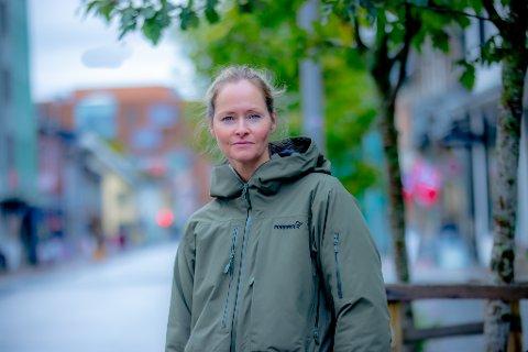 FLYTTET HJEM: Inger Lise Ebeltoft flyttet hjem til Tromsø igjen et år etter terrorhandlingene 11. september 2001.