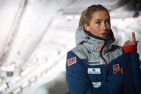 Skogn-hopperen Karoline Andrea Røstad ble nummer åtte i NM.