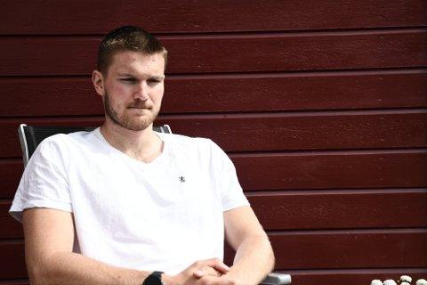NY KONTRAKT: Vetle Rønningen fra Skogn har skrevet under på en ny kontrakt med KIF Kolding.