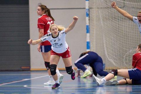 NY KONTRAKT: Martine Myhre Hegglund har skrevet under på en ny kontrakt med LHK.