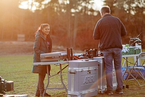 – FAST STILLING: – Målet er å få en fast stilling innen TV- eller filmproduksjon. Jobb som koordinator eller prosjektleder hadde vær fint, sier Tine Shruti Karlsen, opprinnelig fra Ekne.