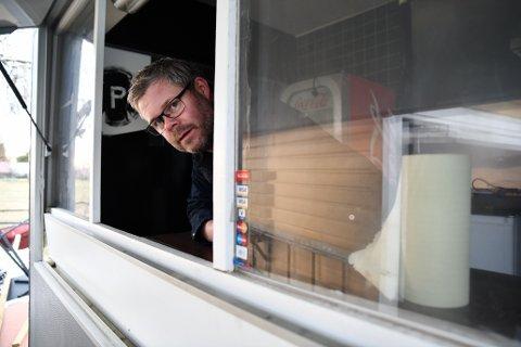 """MER MAT: Stein A. Nyeng skal servere mat fra en ny foodtruck på Røstad, under navnet """"Pøbel""""."""