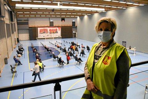 Eva Kristin Lian, vaksinekoordinator Levanger kommune