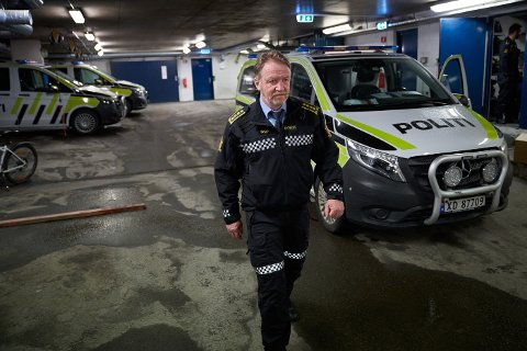 SKUFFET: Politistasjonssjef Snorre Haugdahl i politiet er skuffet over at russen ikke har forholdt seg til avtalen og politiets anbefalinger – om ikke å kjøre russebuss mellom kommunegrensene.