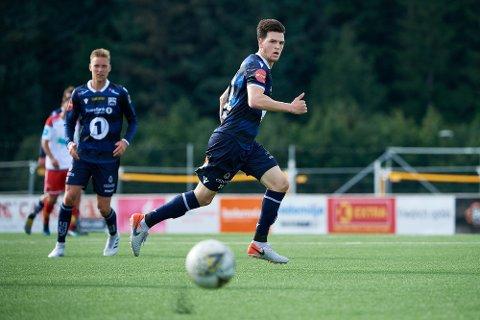 BELGIA NESTE? Zulte Waregem skal ha lagt inn minst ett bud på Bent Sørmo. 24-åringen har kontrakt med Kristiansund ut året, men den belgiske klubben ønsker å hente Sørmo allerede i sommer.