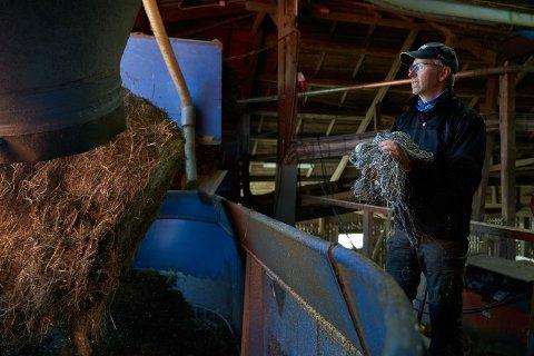 INGEN NYE MOMENTER: Kommunen slår i sitt svar til gårdbruker Karl Fredrik Okkenhaug (bildet) at den ikke kan se at det har kommet vesentlige nye momenter i saken som ikke var kjent på vedtakstidspunkt.