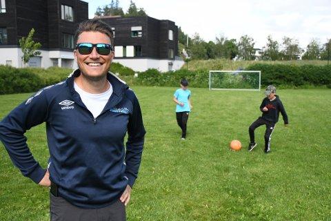 FOTBALLCUP: 7. august arrangerer Vegard Knudsen en uhøytidelig fotballcup på Staup.