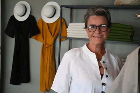 KLESDESIGNER: For fem år siden lanserte Ragnhild Blikø merket Bybliko. Nå åpner hun atelier i Kirkegata 56.