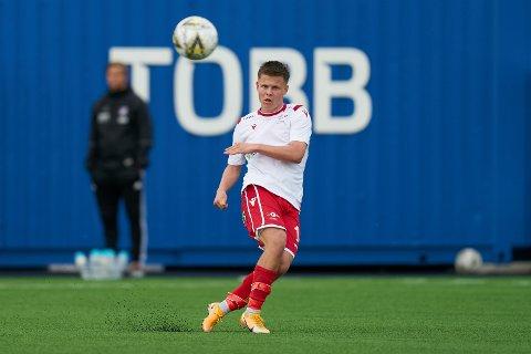 LFK-SPILLER: Sander Saugestad er midtbanespiller på Levanger FK.