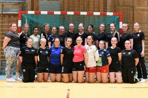 4.- og 5. divisjon: Her er noen av spillerne som skal bidra for Skogn håndball i 4.- og 5. divisjon denne sesongen.