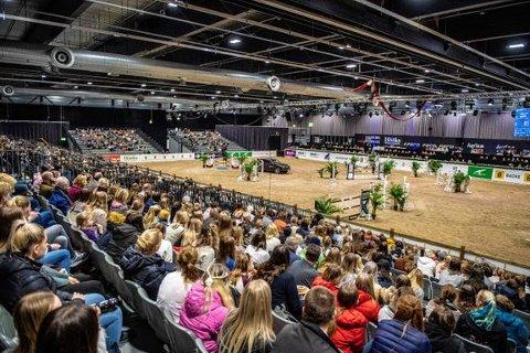 AVLYSER: Den populære festivalen Norwegian Horse Festival, som trekker hesteinteresserte fra hele landet, avlyses i  2021.