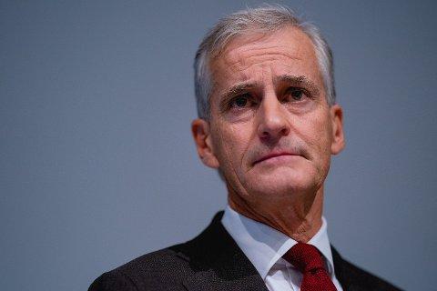 NEDTUR: Ap-leder Jonas Gahr Støre opplever motgang på meningsmålingene om dagen, nøyaktig ett år før det avgjørende stortingsvalget neste år. Han må tilbake til 2003 for å finne et dårligere resultat på Sentios målinger.