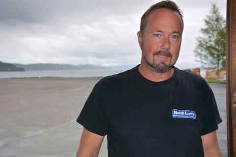 LITE SAMARBEIDSVILLIG: - Inderøy Sp er lite samarbeidsvillig, mener Geir Josrein Ørsjødel i Inderøy Høyre.