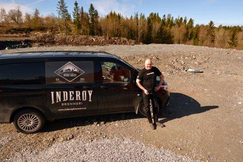 NYTT DESTILERI: Svein Berfjord investerer 10 millioner kroner i nytt destilleri for Inderøy brenneri.