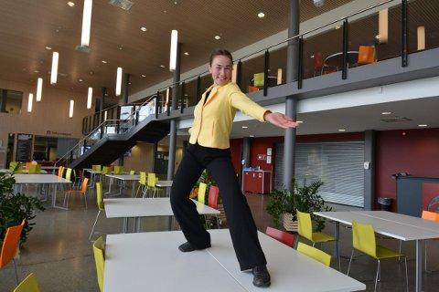 KOORDINATOR: SIgne KJesbu Ottersland er ansatt som koordinator for Sommer i Inderøy, kommunens gratis sommertilbud for barn og unge i grunnskolen.