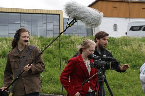 FILMBUSSEN: Filmbussen kommer til Inderøy 3. - 4. august for å skape filmer sammen med interesserte ungdommer.