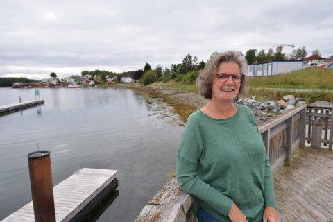 BOPLIKT: Siv Furunes, Førstekandidat SV Nord-Trøndelag valgdistrikt, ønsker at det skal innføres boplikt i Straumen sentrum. – SV mener at en boligførst og fremst skal være et hjem, ikke et spekulasjonsobjekt, sier hun.