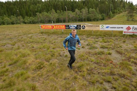 STAFETT: Ole Marius Bach og Inderøy ski inviterer til en uhøytidelig stafett, «Den gyldne stafett» lørdag 28. august.