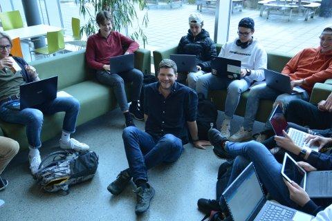 UNGDOMSKONTAKT: Torstein Valvatnet Odnanes starter i den nyopprettede stillingen som ungdomskontakt i Inderøy førstkommende mandag