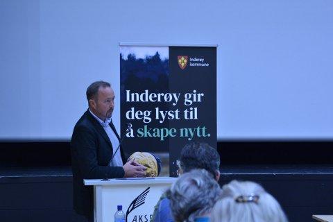 TILBAKEGANG: Geir Jostein Ørsjødal og Inderøy Høyre taper terreng i Inderøy, går ned med 3,5 prosent til 8,5.