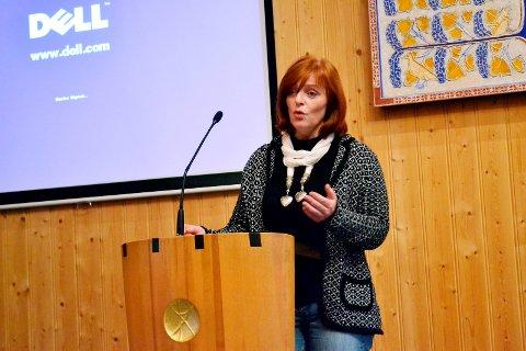 Gruppeleder Mona Mangen i Sørum Ap