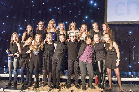 Sangglade: Fra Sørum Soul Childrens jubileumskonsert i Bingsfosshallen – oktober 2016.
