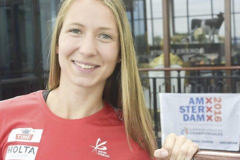 STORT: Å være EM-deltaker er Astrid Mangen Cederkvists største opplevelse til nå.