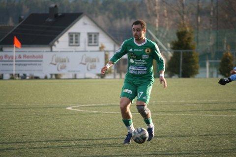 TILBAKE: Ayoub Blomberg er tilbake i AFSK-trøya i kveldens toppoppgjør mot Fjellhamar.